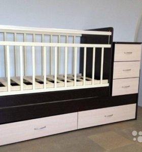 Детская кровать-трансформер 3 в 1