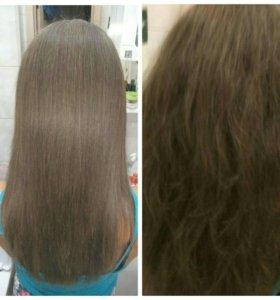 Питание и восстановление волос ботоксом