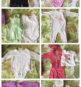 Одежда для девочек от 0 до 8 месяцев