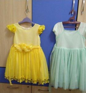 Платья для девочки 5-6 лет
