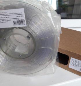 Пластик для 3D-принтера petg natural
