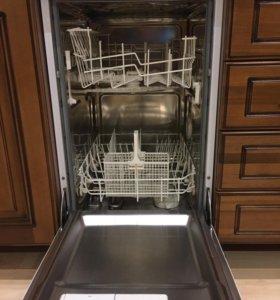 Посудомоечная маш Аристон Италия 45см встраиваемая