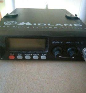 Радиостанция и антенна