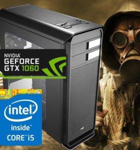 Игровой Пк Intel Core i5/8Gb/SSD/500GB/GTX-1060-3G