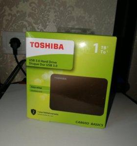 Внешний винт Toshiba USB 3.0 на 1Tb новый