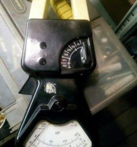 Клещи электроизмерительные Ц91 СССР