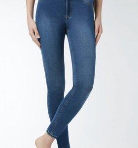 Calzedonia узкие джинсы размер s (42-44)
