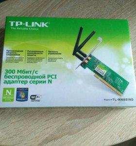 TP-Link PCI адаптер серии N