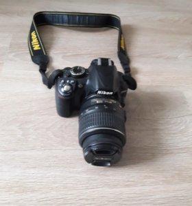Фотоаппарат Nikon D3100 с сумкой