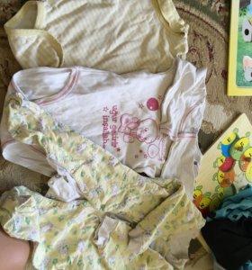 Вещи на девочку пакетом