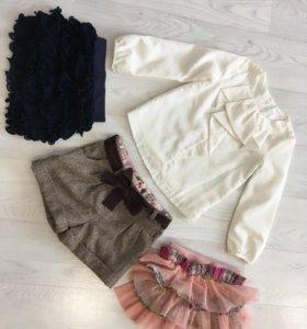 Кофточка, шорты, юбка