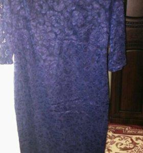 Платье новое гепюровое