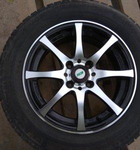 Зимние шип. колеса Michelin X-Ice NORTH б/у 4 шт.