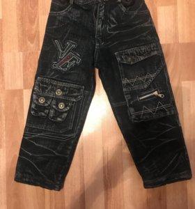 Утеплённые джинсы на мальчика
