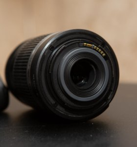 Объектив Canon EF-S 55-250мм 4-5,6 STM
