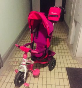 Велосипед для девочки состояние отличное!