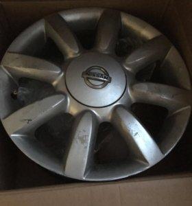 Диски на Nissan Teana J32