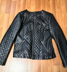 Куртка кожаная, размер 44-46