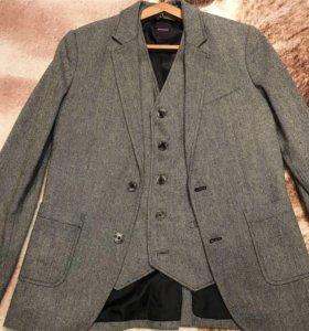 Мужская двойка (пиджак и жилет)