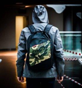 Новый рюкзак punch! Tilt чёрный/камуфляж