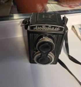 Фотоаппарат советский «Любитель»
