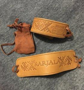 Карелия, браслеты и мешочек