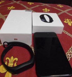 Xiaomi Redmi 4x 16gb Global + mi band 2
