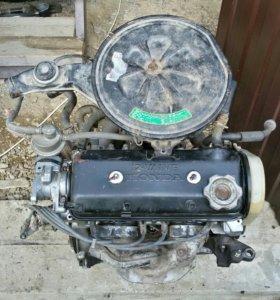 Двигатель Хонда EV2 1985г., EW/EW2 1987г.