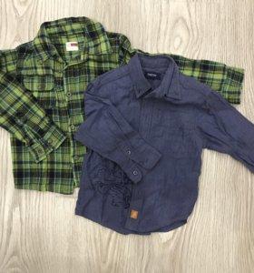 Рубашки 2 шт, рост 86-92