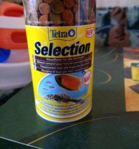 Tetra Selection 4in1 смесь 4-х видов корма для рыб