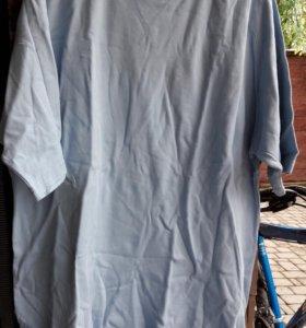 Натуральная блузка блейзер 58-60 р.