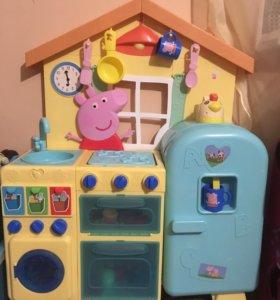 Кухня Детская Свинка Пеппа