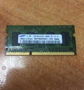 Память So-DDR3 1GB SAMSUNG PC3-8500
