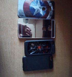 Продам чехлы айфон 5,5s,SE ; Honor 5x