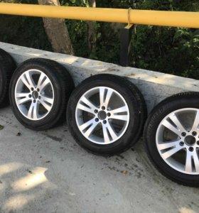 Колёса на Mercedes-Benz