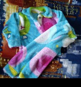 Пижамка теплая 94-104