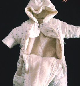 Детский комбинезон трансформер (зимний)