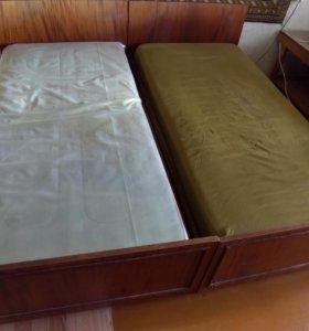 2 Кровати(можно по одной)
