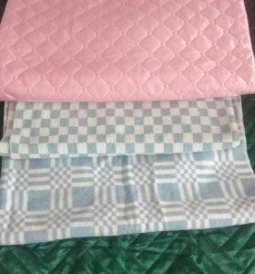 Три детских одеяла