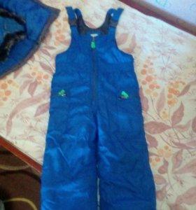 Зимний костюм на 3 года на мальчика