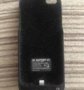 Чехлов-зарядник для айфон 5/5s