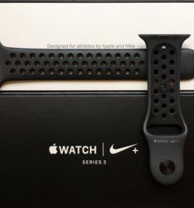 Ремешок Apple Watch, спортивный Nike
