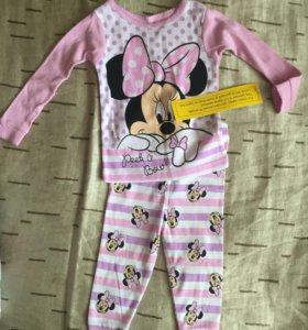 Пижама Disney новая