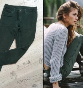 Стильные брюки хаки