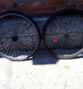 Калеса с велосипеда