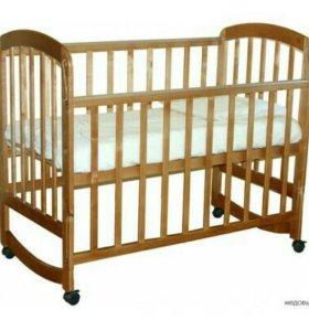 кроватка качалка новая