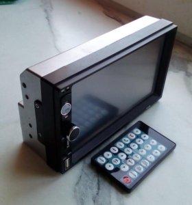 Новая магнитола на машину с камерой заднего вида