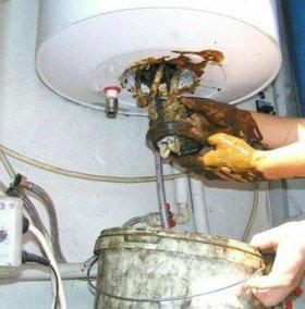 Чистка водонагревателей, бойлеров