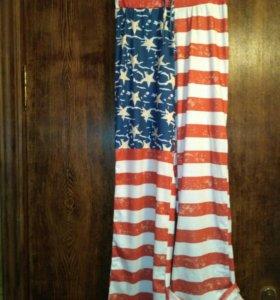 Трикотажные брюки размер 42-44
