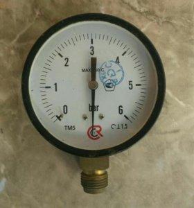 Барометр системы отопления